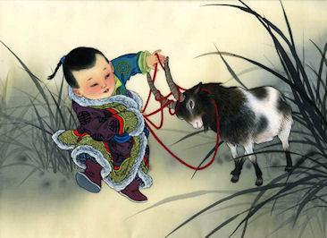 Наступающий 2015 год по китайскому календарю