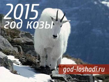 Как встречать 2015 год Козы
