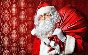 Кто такой Санта Клаус и кто его придумал?