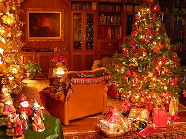 Как украсить дом на Новый 2015 год Козы