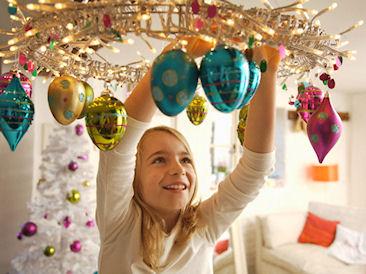 Как украсить квартиру на Новый 2015 год Козы
